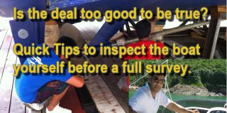 How to inspect a motor yacht by yourself
