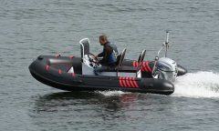 390 RIB-3.9m-Fiberglass Bottom-Inflatable boat