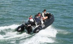 420 RIB-4.2m-Fibreglass bottom-Inflatable boat