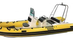 570 RIB-5.7m Fibreglass bottom-Inflatable boat