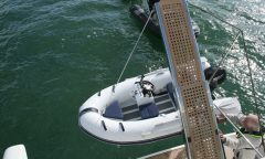 290 RIB - 2.9m - Fiberglass bottom - Inflatable boat