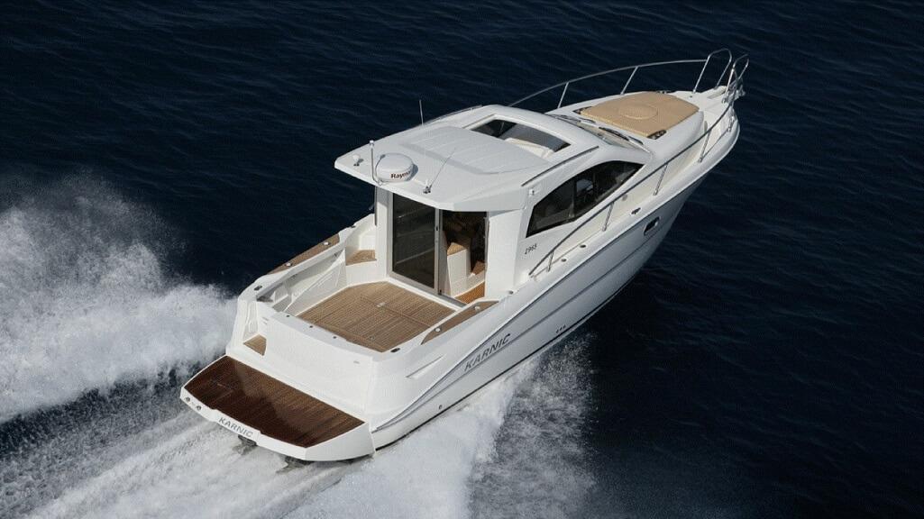 Karnic 2965 boat for sale HK