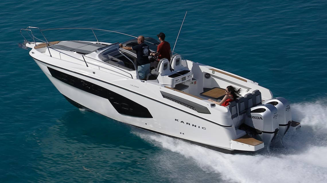 SL800 Speed boat for HK
