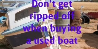 Buy a used boat safely
