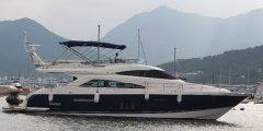 Fairline 65 Flybridge motor yacht