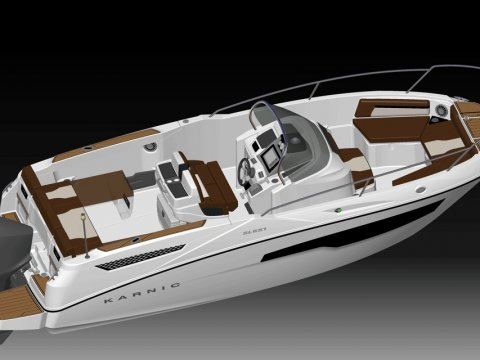 SL651 Speed Boat Karnic
