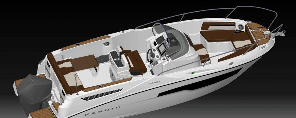 SL651 Speed Boat Karnic